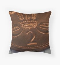 Adding my 2 Pence Throw Pillow