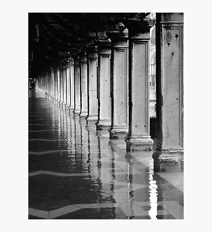 FLOODED ST MARKS SQUARE  Photographic Print