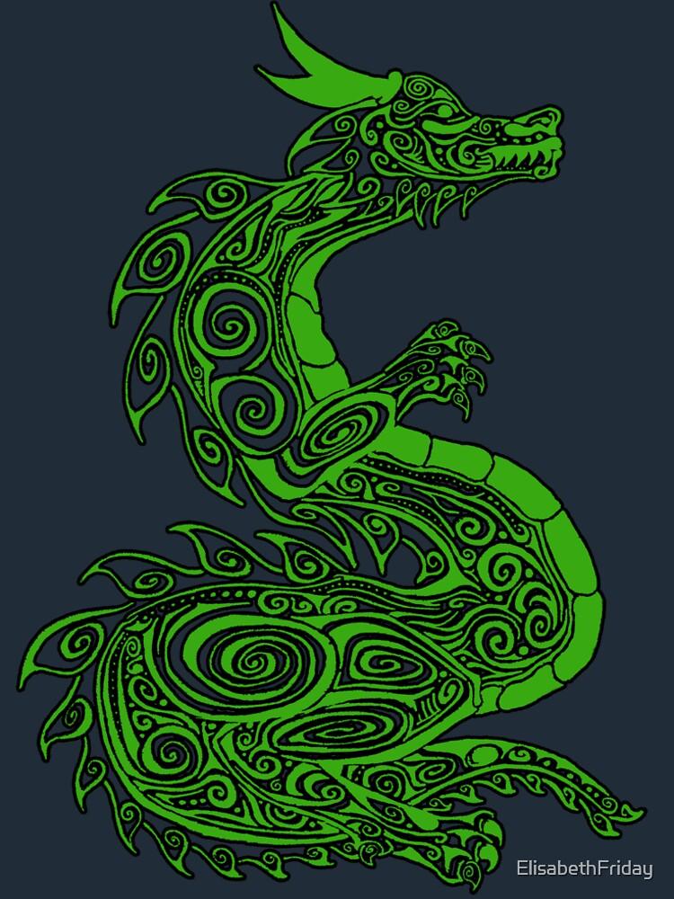 Grüner Drache von ElisabethFriday