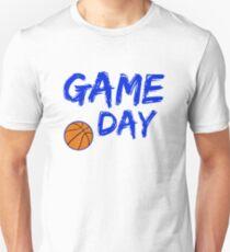 Game Day Basketball Royal Blue Unisex T-Shirt