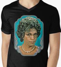 Mama's Familie T-Shirt mit V-Ausschnitt für Männer