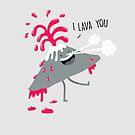 I Lava You by Porky Roebuck