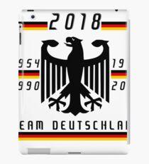 World Cup 2018: Team Germany iPad Case/Skin