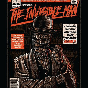 The Invisible Man by asteriongraphic