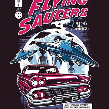 Flying Saucers by asteriongraphic