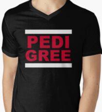 RUN Pedigree Men's V-Neck T-Shirt