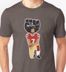 Camiseta ajustada Colin Kaepernick se arrodilla