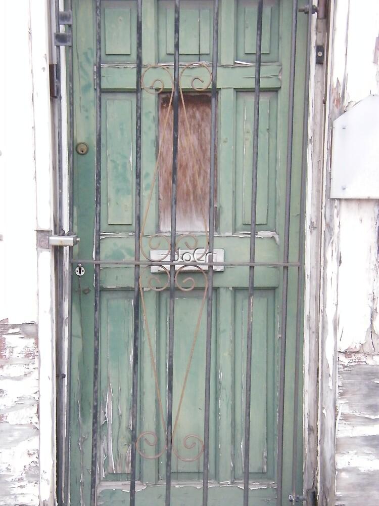 Green Door by JoCr