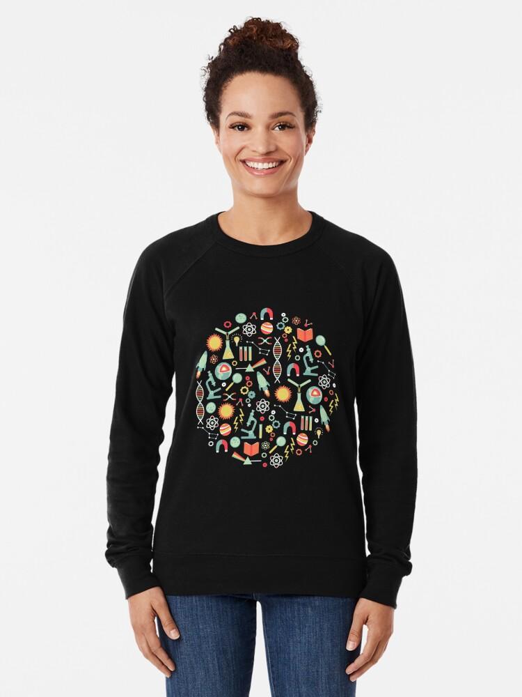 Alternate view of Science Studies Lightweight Sweatshirt