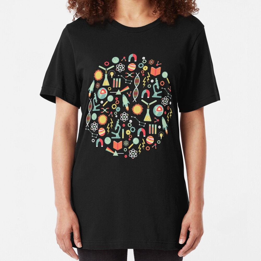 Science Studies Slim Fit T-Shirt