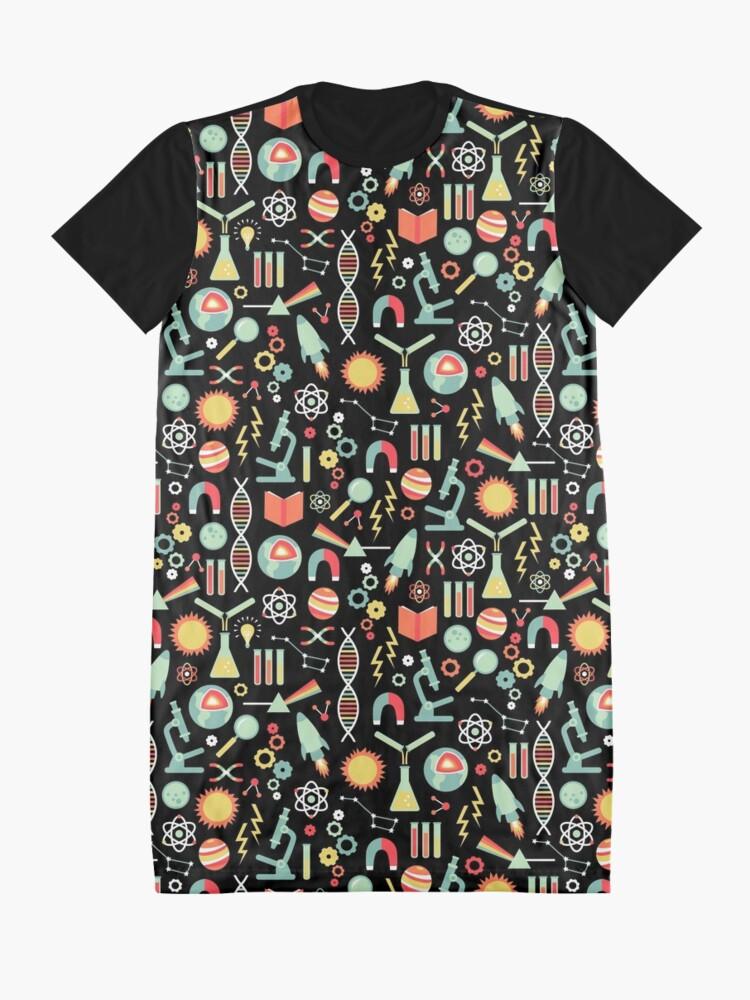 Alternate view of Science Studies Graphic T-Shirt Dress