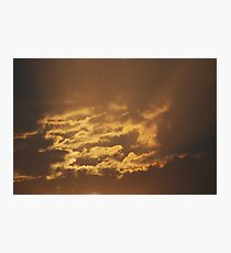 Shining Clouds Photographic Print