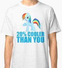 Rainbow Dash: 20% Cooler Than You Classic T-Shirt