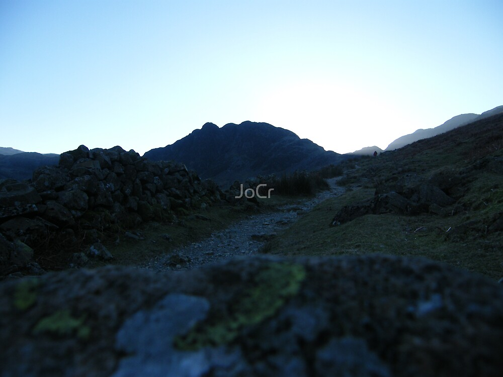 The only way is up by JoCr