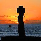 Mohai in Easter Island by Monica Di Carlo