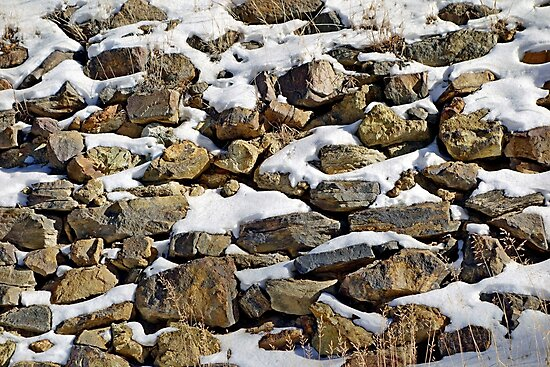 Stones and Snow  by Robert Meyers-Lussier