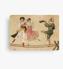 Highwire dancers Canvas Print