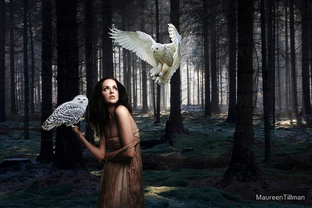 The Owl Lady's Midnight by MaureenTillman