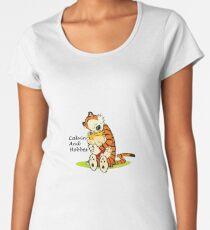 Calvin And Hobbes HUG Women's Premium T-Shirt