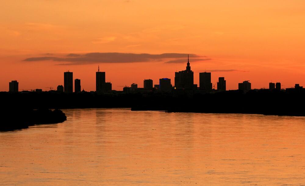 Warsaw skyline by Qba from Poland