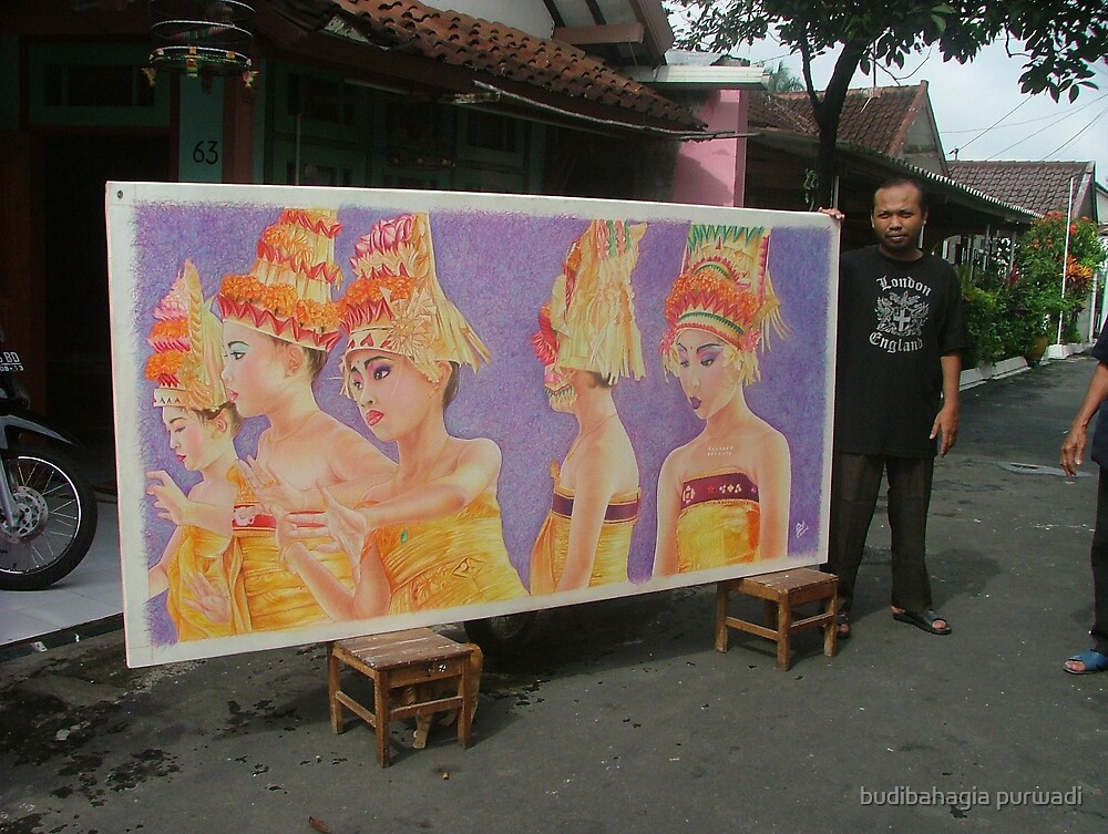 The Bali Girls : ... but seriously by budibahagia purwadi