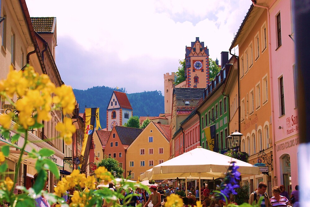 Fussen, Germany by Angie  Hoover