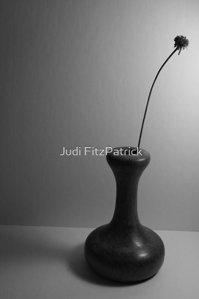 Vase - B&W by Judi FitzPatrick