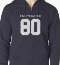 Rep Your Census Year - 80s Generation Zipped Hoodie