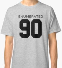 Rep Your Census Year - 90s Generation Classic T-Shirt