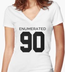 Rep Your Census Year - 90s Generation Women's Fitted V-Neck T-Shirt