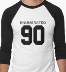 Rep Your Census Year - 90s Generation Men's Baseball ¾ T-Shirt