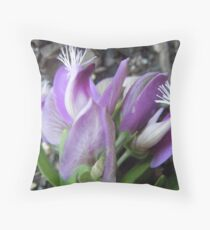 Tassles in the wind Throw Pillow