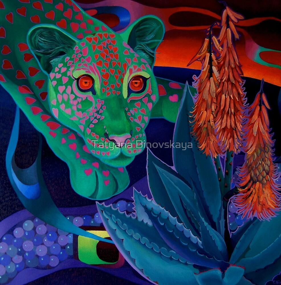 """""""Night Whispers""""(Original is in private collection) by Tatyana Binovskaya"""