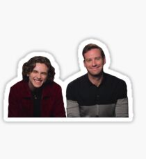 Armie and Timmy Sticker