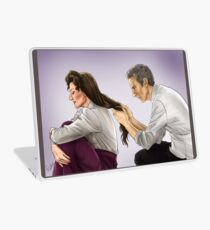 Missy and Twelfth Doctor Laptop Skin