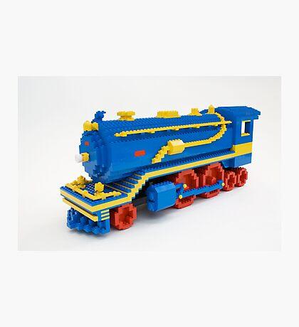 LEGO Train Engine Photographic Print