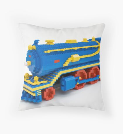 LEGO Train Engine Throw Pillow