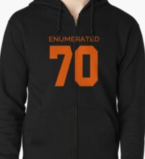 Rep Your Census Year - 70s Generation Zipped Hoodie
