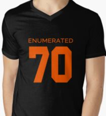 Rep Your Census Year - 70s Generation Mens V-Neck T-Shirt