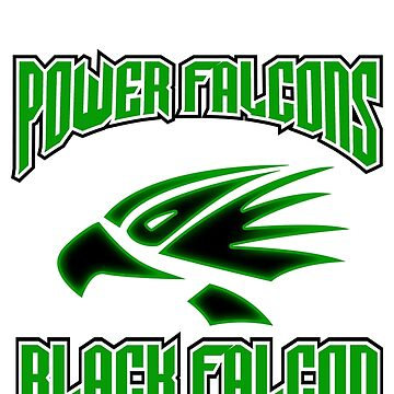 "Power falcons ""black"" by DerezzedDigital"