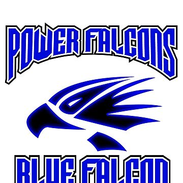 "power falcon ""blue"" by DerezzedDigital"