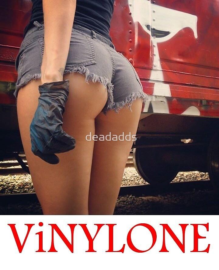 Vinylone train art sticker by deadadds