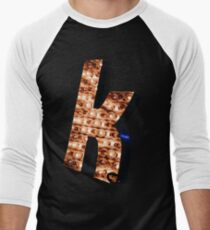 """The Killers """"K""""  Men's Baseball ¾ T-Shirt"""