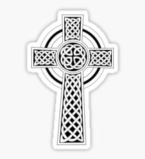 Celtic Cross sticker Sticker