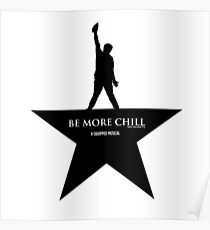 Seien Sie mehr Chill, Hamilton Design Poster