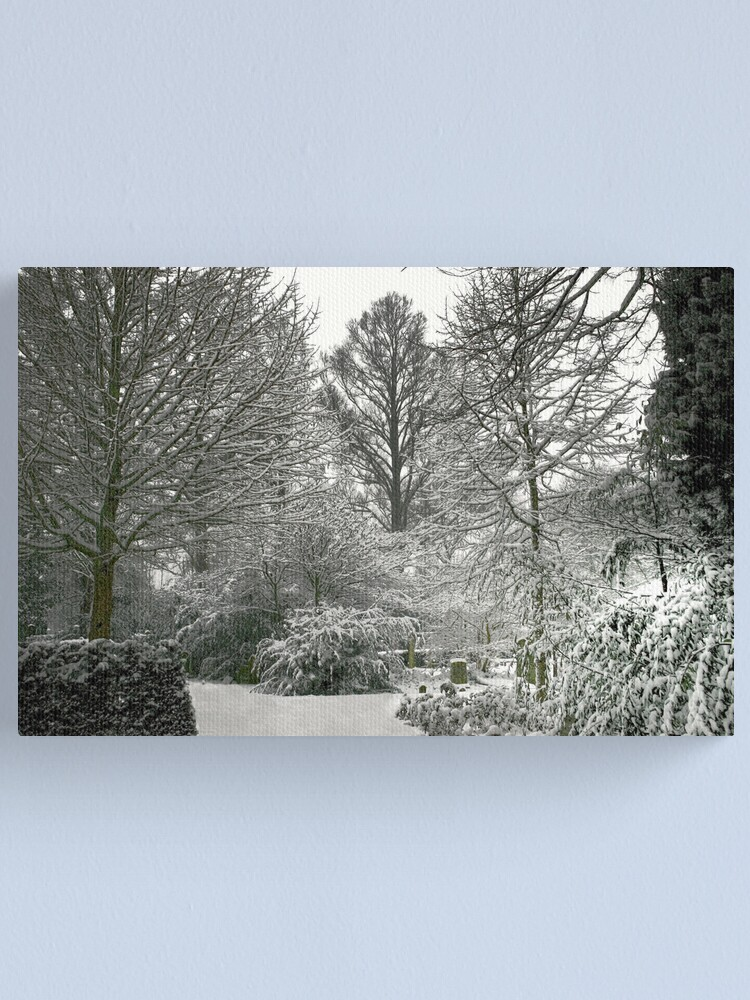 Alternate view of Winter Landscape Canvas Print