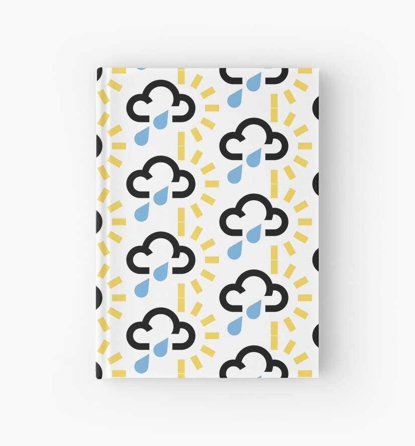 Classic Weather Symbol - Sunny showers by barnfinds