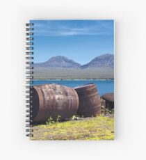 The Spirit of the Isles Spiral Notebook