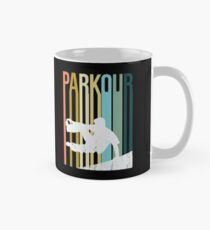 Parkour Retro Design  Mug