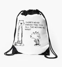 All the Nothing Drawstring Bag